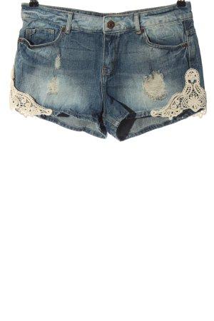 Denim Co. Hot pants blu stile casual