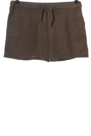 Denim Co. Hot Pants braun Casual-Look