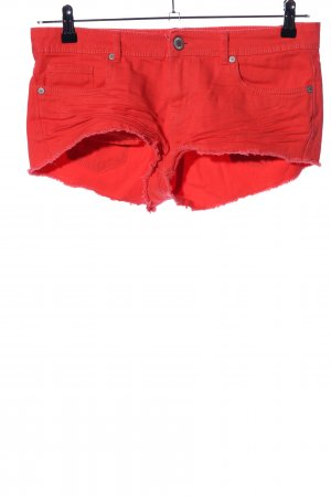 Denim Co. Hot Pants rot Casual-Look