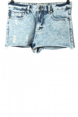Denim Co. Hot Pants blau Casual-Look