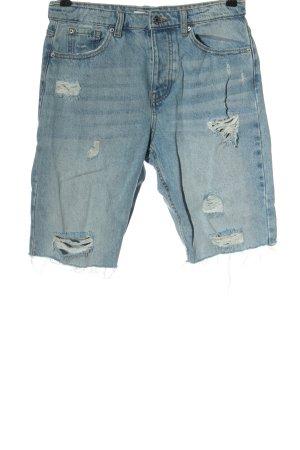 Denim Co. Hot pants blu stile da moda di strada
