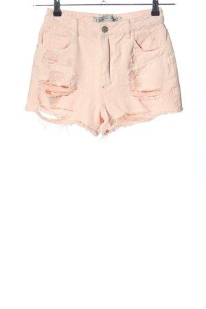 Denim Co. Hot Pants creme Casual-Look