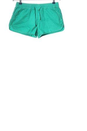 Denim Co. Hot Pants türkis Casual-Look