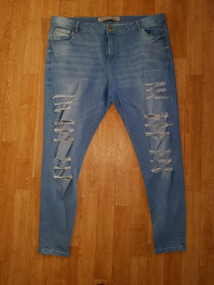 Denim Co. Jeans a sigaretta blu Cotone