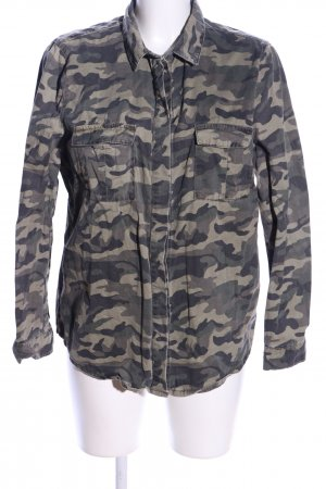 Denim Co. Jeanshemd Camouflagemuster Casual-Look