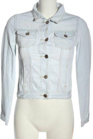 Denim Co. Veste en jean bleu style décontracté