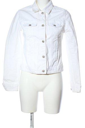 Denim Co. Spijkerjack wit casual uitstraling
