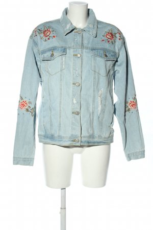 Denim Co. Jeansjacke blau Casual-Look