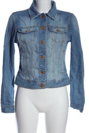 Denim Co. Jeansjacke blau Casual-Look