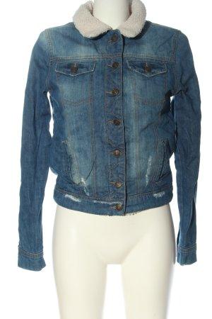Denim Co. Denim Jacket blue casual look