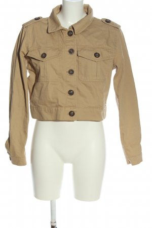 Denim Co. Veste en jean blanc cassé style décontracté