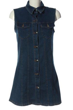 Denim Co. Robe en jean bleu style décontracté