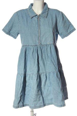 Denim Co. Jeanskleid blau Casual-Look