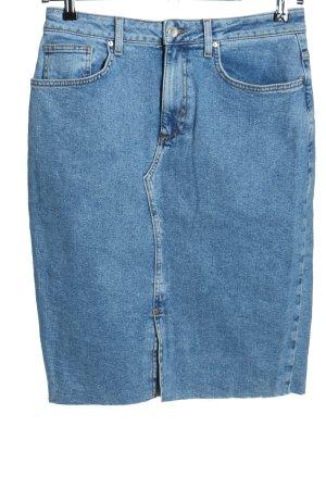 Denim Co. Jeansrock blau Casual-Look