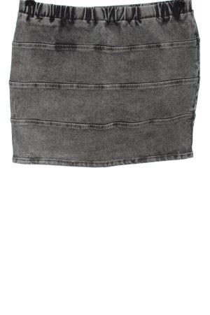 Denim Co. Gonna di jeans grigio chiaro elegante