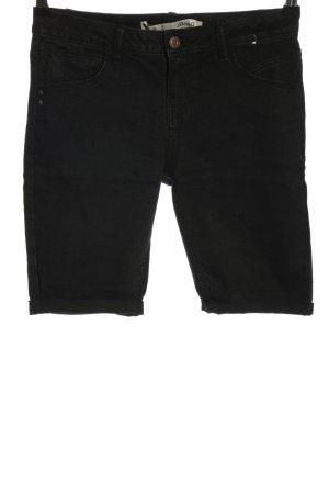 Denim Co. Pantaloncino di jeans nero stile casual