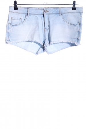 Denim Co. Jeansshorts blau Casual-Look