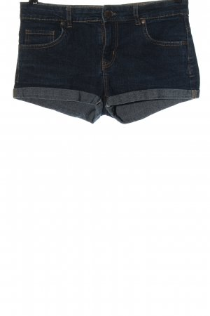 Denim Co. Pantalón corto de tela vaquera azul look casual