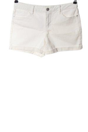 Denim Co. Pantaloncino di jeans bianco stile casual