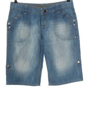 Denim Co. Short en jean bleu style décontracté