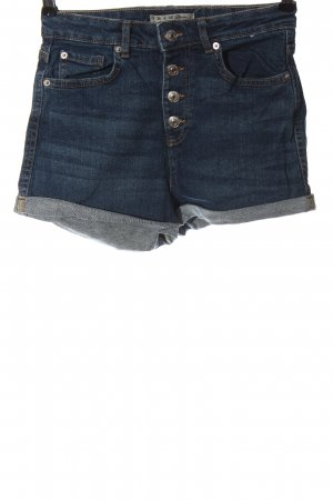 Denim Co. Pantaloncino di jeans blu stile casual