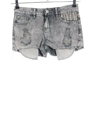 Denim Co. Jeansshorts hellgrau Street-Fashion-Look