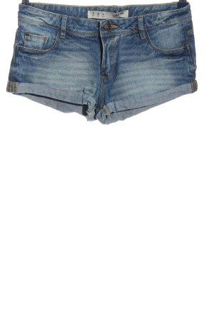 Denim Co. Jeansshorts blau Casual-Look
