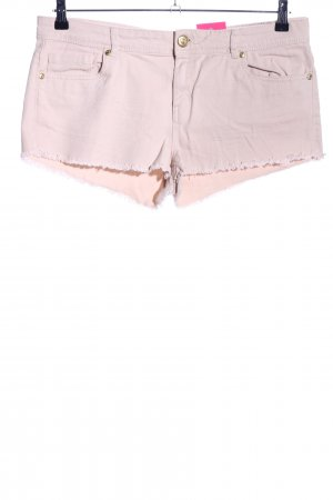 Denim Co. Jeansshorts pink Casual-Look