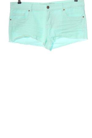 Denim Co. Denim Shorts turquoise casual look