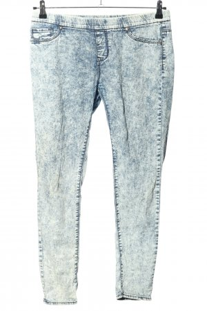 Denim Co. Jeggings blu puntinato stile casual