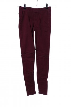 Denim Co. Jeggings rot Casual-Look