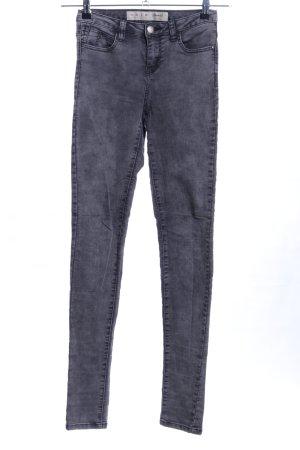 Denim Co. Jegging gris clair style décontracté