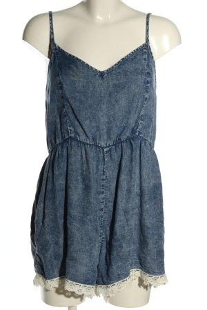 Denim Co. Jumpsuit blau Casual-Look