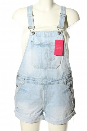 Denim Co. Bib Denim blue casual look