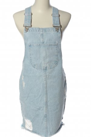 Denim Co. Latzrock blau Casual-Look