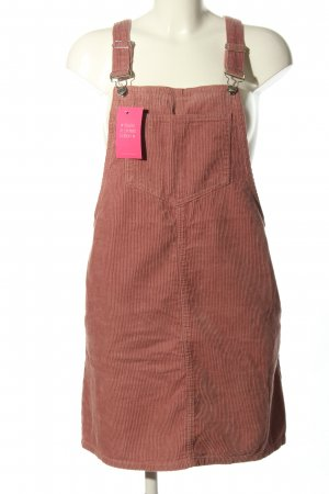 Denim Co. Pinafore Overall Skirt pink casual look