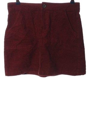 Denim Co. Minirock rot Casual-Look