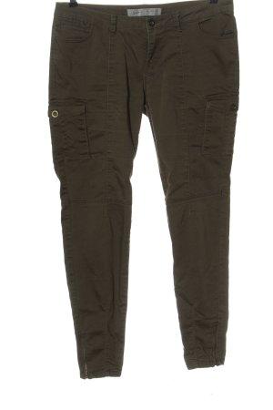 Denim Co. Drainpipe Trousers khaki casual look
