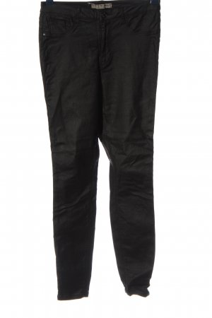 Denim Co. Röhrenhose schwarz Casual-Look