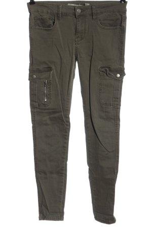 Denim Co. Jeans a sigaretta cachi stile casual