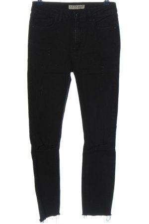 Denim Co. Tube jeans zwart casual uitstraling