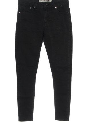 Denim Co. Tube Jeans black casual look