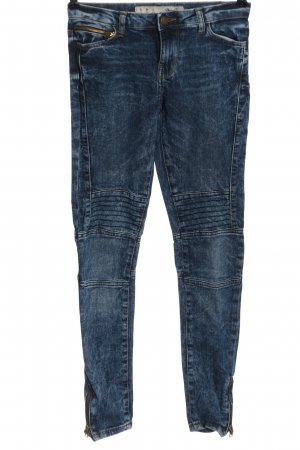 Denim Co. Jeans a sigaretta blu stile casual