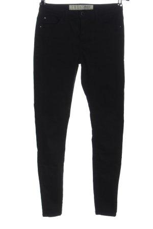 Denim Co. Tube Jeans black flecked casual look