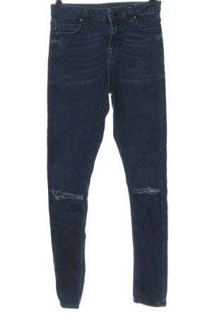 Denim Co. Tube Jeans blue casual look