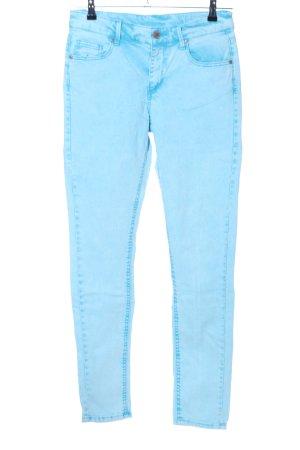 Denim Co. Jeans cigarette turquoise style décontracté