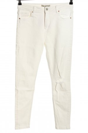 Denim Co. Skinny Jeans natural white casual look