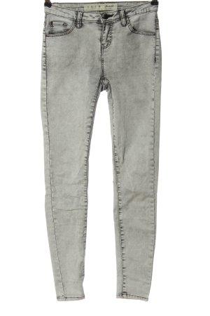 Denim Co. Jeans skinny grigio chiaro stile casual