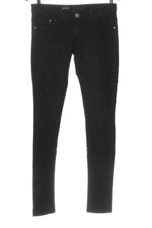 Denim Co. Skinny Jeans schwarz Casual-Look