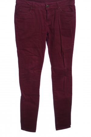 Denim Co. Skinny Jeans rot Casual-Look